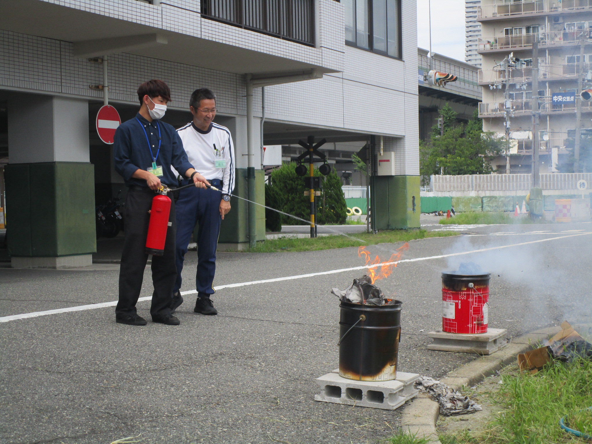 消防訓練を実施しました